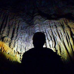 Una imagen del interior de la Cueva del moro