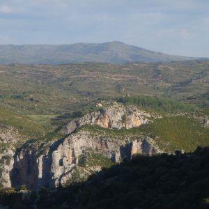 Imagen panorámica de la Sierra de Guara